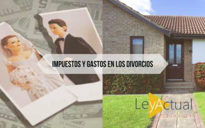 Divorcios y separación: Impuestos y gastos cuando nos repartimos la vivienda