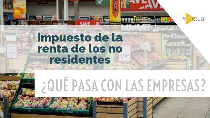 impuesto no residentes para empresas