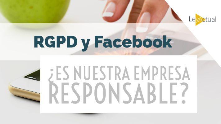 pagina empresa en redes sociales rgpd