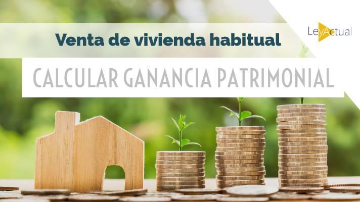 calcular ganancia por venta vivienda