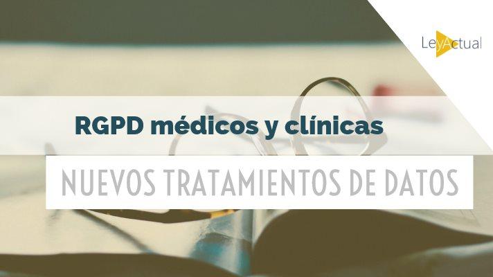 tratamientos de datos en clinicas