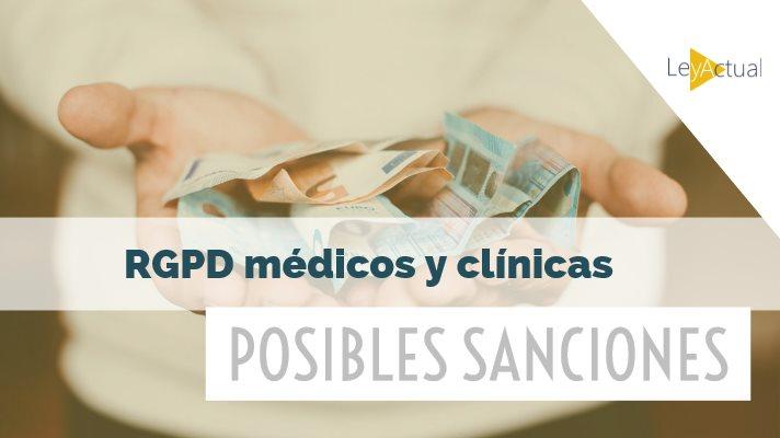 sanciones rgpd medicos y clinicas