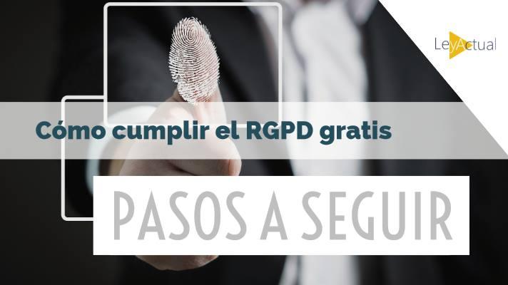 pasos para cumplir rgpd