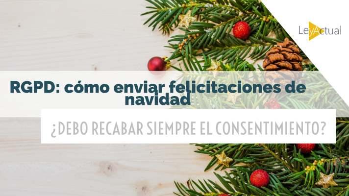 consentimiento felicitacion navidad